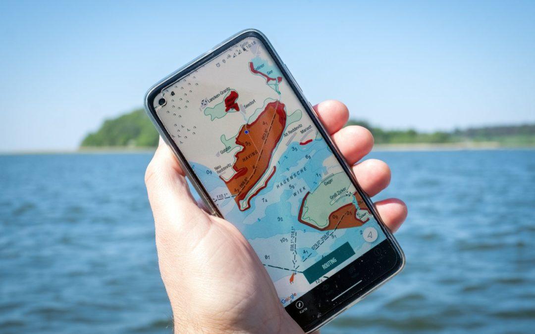 Sicher durch den Greifswalder Bodden navigieren mit neuer App