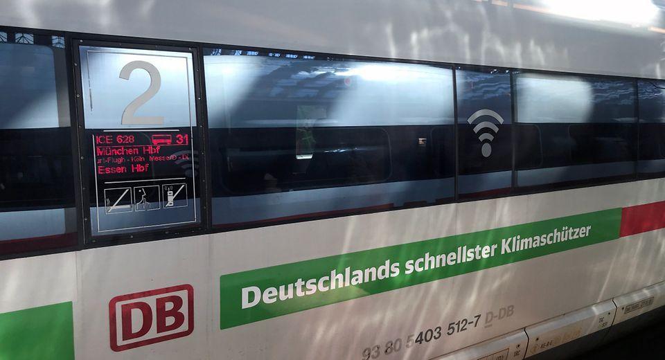 Deutsche Bahn passt Ziel für Klimaneutralität an