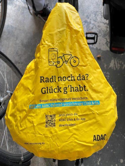 Temporäre Fahrrad-Diebstahlversicherung per App vom ADAC