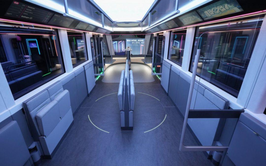 S-Bahn der Zukunft mit mehr Platz und digitalen Fahrgastinformationen