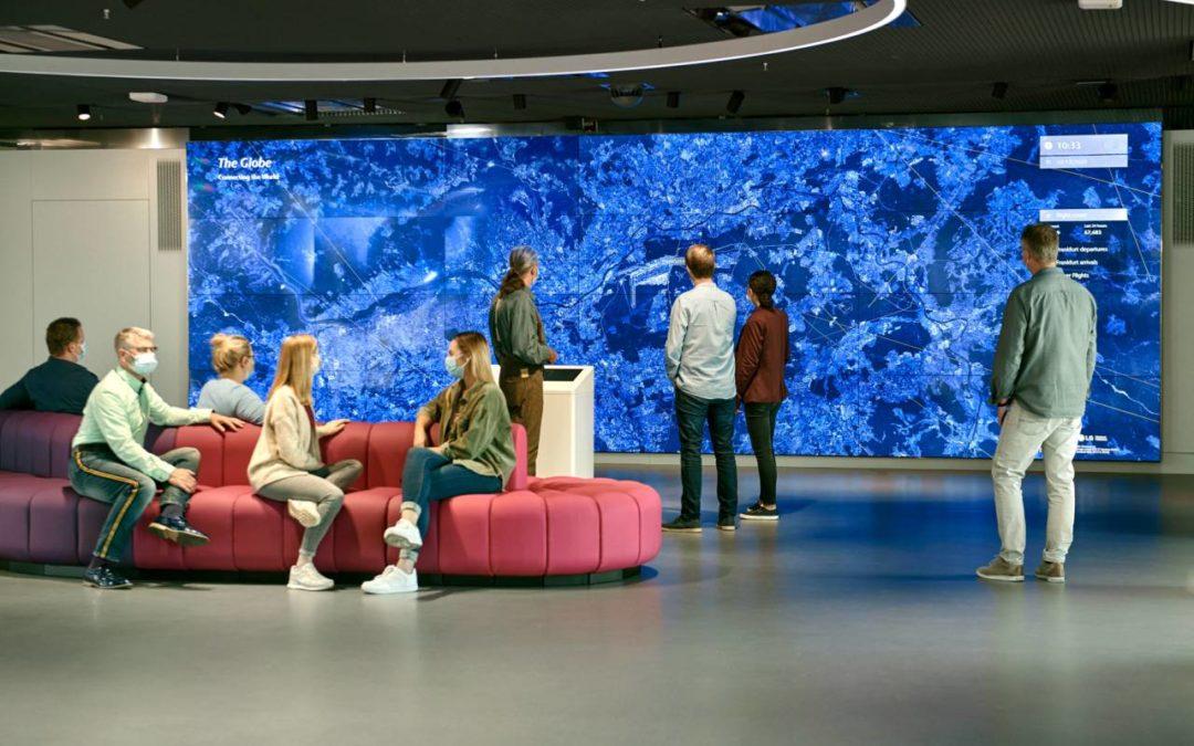 Neues Multimedia-Besucherzentrum am Flughafen Frankfurt